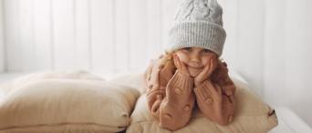 Jak dbać o skórę dziecka zimą?